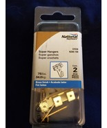 Stanley National 2pk, N260-166 75lb Super Hangers for pictures - $1.24
