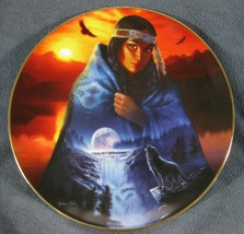 Visions In A Full Moon Collector Plate Cloak Of Visions Andrew Farley - $27.97