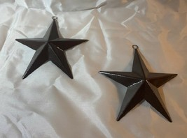 """Brown Metal Texas Lone Star 6 3/4"""" tall  (Set of Two) Accent Decor 0170-... - $22.00"""