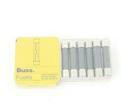 LOT OF 6 NEW COOPER BUSSMANN GBB-10 FUSES 10AMP CERAMIC FAST ACTING 250VAC image 2