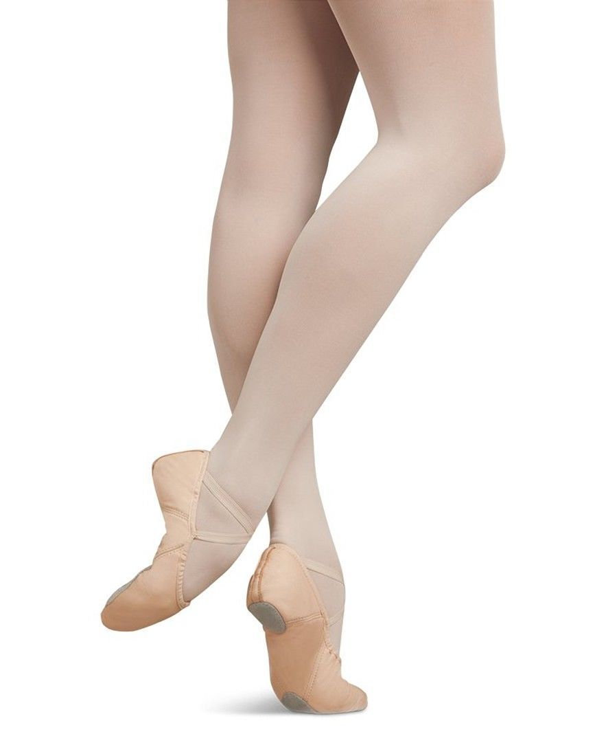 Capezio Womens Size 5 Juliet Ballet Shoe Leather Rose Quartz New