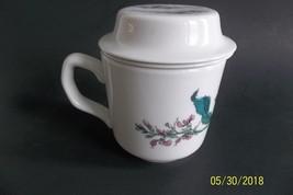 Pillivuyt Cup Mug Infuser Lid Tea Coffee 3 PC France Porcelain Infusion ... - £11.50 GBP