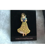 Walt Disney 2006 Snow White Princess lapel trading pin collector sparkle - $20.23