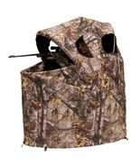Ameristep Tent Chair Easy Fold Over Ground Blind, Realtree Xtra - $77.95