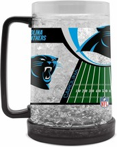 Carolina Panthers 16 oz NFL Duck House Crystal Freezer Mug - New - $24.99