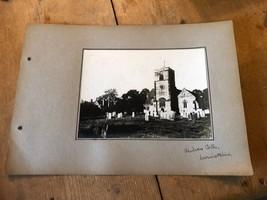 ANTIQUE/VINTAGE PHOTO OF ALL SAINTS CHURCH, CHILVERS COTON (ENGLAND) A4-... - $6.46