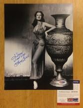 "Signed 8"" x 10"" photograph of Arlene Dahl - Diamond Queen - PSA DNA - Le... - $185.00"