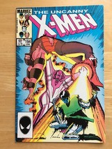 Uncanny X-Men 194 VF Condition 1985 Marvel Comic Book Wolverine Cover - ... - $3.59