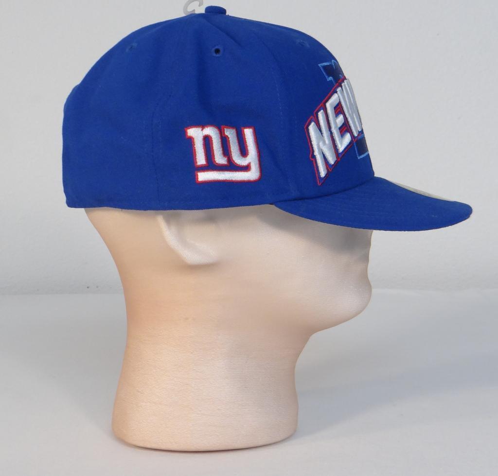 cd48b9f3af6 New Era 59Fifty NFL New York Giants Blue Fitted Baseball Cap Hat Mens 7 3