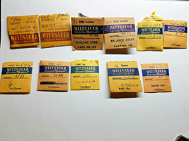 WITTNAUER WATCH PARTS IN PACKAGE FOR REPAIRS  11AR,11K ,11TSA,,4D,11AHS,... - $91.92