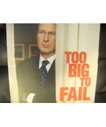 TOO BIG TO FAIL EMMY DVD 2011 HBO  WILLIAM HURT   - $8.95
