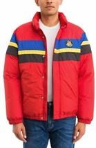 Polo Ralph Lauren Men's Red Striped Down Sport Jacket , Medium - $197.01