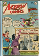 Action #196 1954-DC-Superman-Mental-Man-Lois Lane-Tommy Tomorrow-VG- - $203.70
