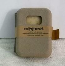 New VTG Handmade Real Peppermint Soap made w/Organic Botanicals & Essential Oils - $16.95