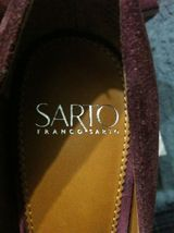 Franco Sarto Mujer Nuevo Piel Borgoña / ante Superior Vestido Zapatos Talla: 6M image 7
