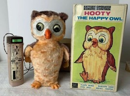 Hooty The Happy Owl Original ALPS W/ Box Battery Operated 1960 Partially... - $98.99