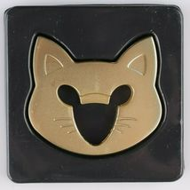 Fred Cap & Mouse Kitty Cat Gold Tone Metal Bottle Opener image 3