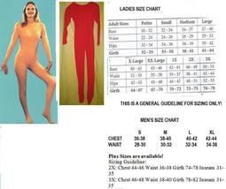 ADULT UNITARD RED MENS FULL BODY SUIT MEDIUM - $60.00