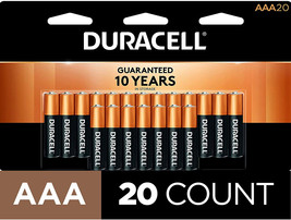 Duracell - CopperTop AAA Alkaline Batteries - long lasting, all-purpose Triple A - $6.99+