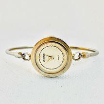 Vintage La Marque Gold Tone Bangle Bracelet Women's 24mm Watch image 5