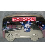 MONOPOLY Collector's 70th Anniversary Edition 2001 Tin Car Box New Sealed - $41.73
