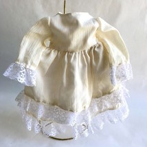 Vintage Ivory and Lace Tessie Doll Dress Applause Pirouette 1982 - $9.77