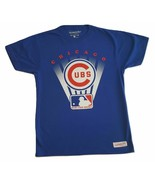 MLB Chicago Cubs Mitchell and Ness Tagless Baseball Men's T-Shirts Tees - $12.95