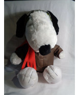 """The Peanuts Movie Build A Bear Workshop Flying Ace Snoopy Aviator Plush 16"""" - $41.35"""