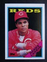 1988 Topps #102 Barry Larkin Cincinnati Reds Baseball Card - $0.99