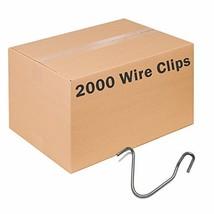 Zareba TPWC100 T-Post Wire Clips, 2000 Pack - $187.39