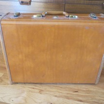 Vintage Samsonite Brown Hard Side Suitcase Luggage Shwayder Bro. - $24.75
