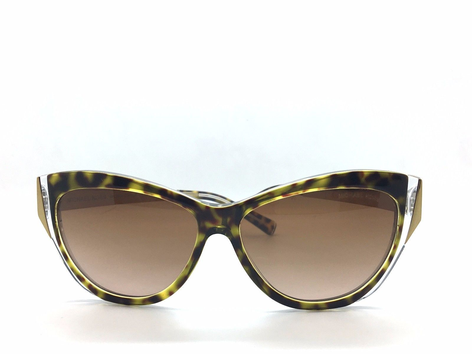 76e3b357b3762 Michael Kors MK 2005 303413 Caneel Tortoise Crystal New Authentic Sunglasses