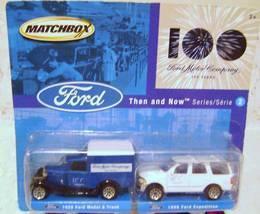 Ford Matchbox Set  MIB  - $15.00