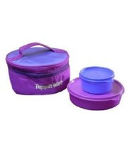 Tupperware Classic New Blue Awesome Lunch Box - $19.75