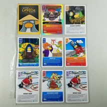 Club Penguin Card Lot With 8 Cards Topps + 1 Foil Card Island Lifter 3000 - $8.50