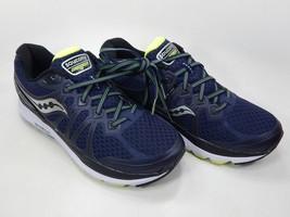 Saucony Echelon 6 Size 9 M (D) EU 42.5 Men's Running Shoes Navy Blue S20384-1