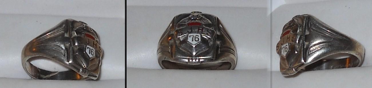 1876 Saint Joseph Mo High School Ring