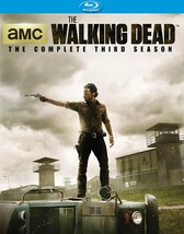 The Walking Dead: Season 3 (Blu-ray Disc, 2013, 5-Disc Set)
