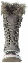 SOREL Womens Quarry/Black Insulated Leather Joan Of Arctic Winter Snow Boots NIB image 5