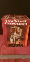 Home Bar Cocktail Carousel 6 Bottle Dispenser  - $44.50