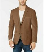 Kenneth Cole Brown Slim-Fit Ultrasuede Sport Coat Mens 36S - $39.55
