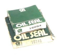 LOT OF 2 NIB CHICAGO RAWHIDE OIL SEALS 16054 & 16246