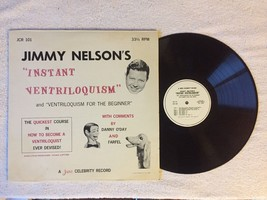 Jimmy Nelson's Instant Ventriloquism -with Danny O'Day & Farfel -Juno Vi... - $14.79