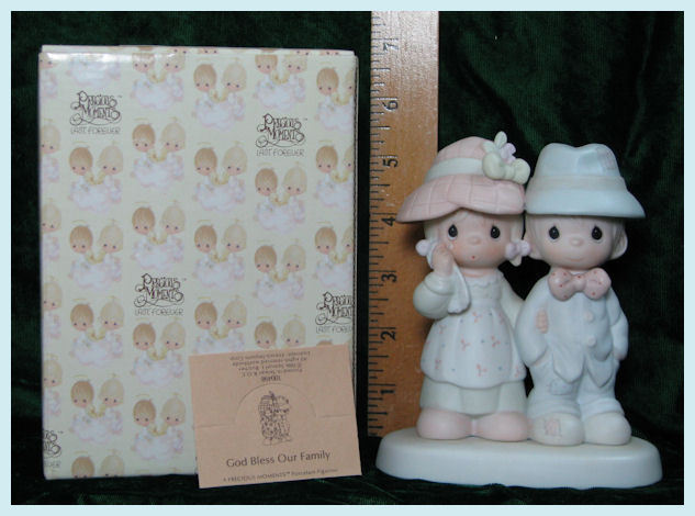 Bless Our Family Precious Moments Figurine 1986