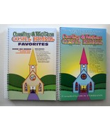 Country & Western Gospel Hymnal Vols 5 & Favorites 2 NEW Spiral Paperbac... - $35.31