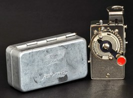 Zeiss Ikon Autoknips Remote Timer Shutter Release In Original Tin MiNTY ! - $39.00