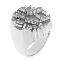 Anello donna Miss Sixty ring in acciaio con petre SMPN01018 - Misura 18 - €42,31 EUR