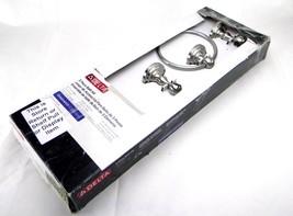 New DELTA 138283 Greenwich Bath Hardware Accessory 3 Piece Kit Satin Nickel - $20.57