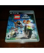 LEGO Jurassic World PlayStation 3 PS3 EXMT **Inv03152** - $13.12