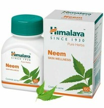 Himalaya Neem Nimba (Azadirachta indica) Wellness 60 Tablets Herbal Product - $13.85+